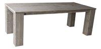 Dutchwood table de jardin brun 160 x 100 cm-Côté gauche