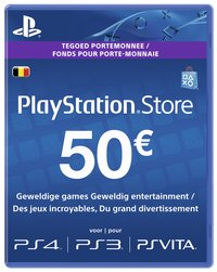 PlayStation Store Network Card 50 euro