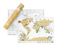 Scratch Map carte du monde - édition voyage-Détail de l'article
