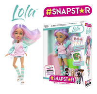 #SNAPSTAR poupée mannequin Lola-commercieel beeld