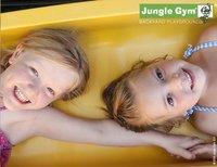 Jungle Gym portique en bois De Hut avec toboggan jaune-Détail de l'article