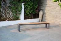 Ocean ensemble de jardin Selena/Bondi 1 banc et 3 chaises anthracite-Image 1