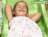 Jungle Gym portique en bois Cottage avec toboggan vert-Détail de l'article