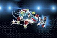 Playmobil Super 4 9002 FulguriX met Gene -Afbeelding 1