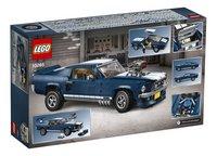 LEGO Creator Expert 10265 Ford Mustang-Achteraanzicht