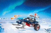Playmobil Action 9058 Motoneige avec pirate des glaces-Image 1