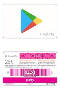 Giftcard Google Play 25 euro-Artikeldetail