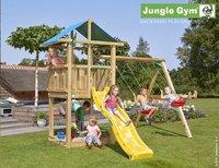 Jungle Gym portique en bois De Hut avec toboggan jaune