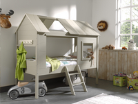 Bed Boomhut Charlotte taupe-Afbeelding 4