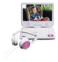 Lenco lecteur DVD portable DVP-910 9/ blanc/rose-Détail de l'article