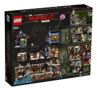 LEGO Ninjago 70657 City haven-Achteraanzicht