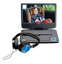Lenco lecteur DVD portable DVP-910 9/ noir/bleu-Détail de l'article