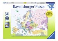 Ravensburger puzzel Kaart Europa-Vooraanzicht