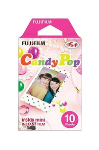 Fujifilm pack de 10 photos Candy Pop pour instax mini