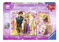Ravensburger puzzle 3 en 1 Disney Raiponce-Avant