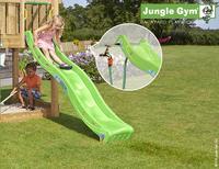 Jungle Gym tour de jeu en bois House avec toboggan vert-Image 1