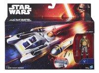 Star Wars ruimteschip Y-Wing Scout Bomber met Kanan Jarus