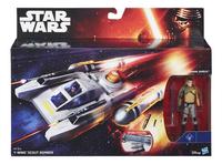 Star Wars vaisseau spatial Y-Wing Scout Bomber avec Kanan Jarus