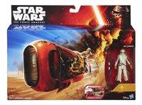 Star Wars ruimteschip Speeder met Rey