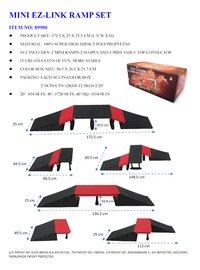Skateramp set Mini EZ-Link Ramp set 89900-Artikeldetail