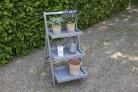 Esschert Design étagère à plantes Échelle gris-Image 2