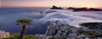 Ravensburger panoramapuzzel In het wolkenmeer-Vooraanzicht
