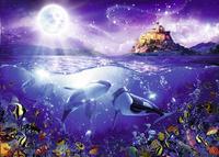 Ravensburger puzzel Walvissen in de maneschijn-Vooraanzicht