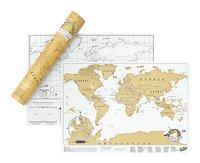 Scratch Map carte du monde - édition voyage-Avant