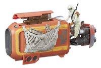 Star Wars vaisseau spatial Speeder avec Rey-Détail de l'article