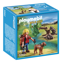 Playmobil Wild Life 5562 Randonneur avec castors