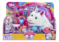 Interactieve knuffel Little Live Pets Rainglow Unicorn Vet Set-Vooraanzicht
