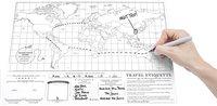 Scratch Map carte du monde - édition voyage-Image 1