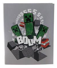 Ringmap A4 Minecraft 4 cm Boom-Vooraanzicht