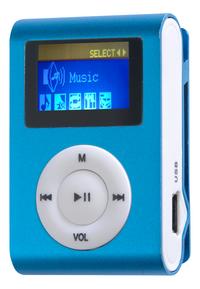 Difrnce lecteur MP3 MP855 4 Go bleu-Côté droit