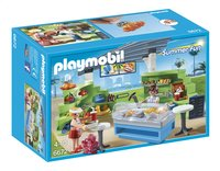 Playmobil Summer Fun 6672 Espace boutique et fast-food-Avant