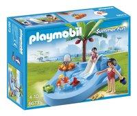 Playmobil Summer Fun 6673 Kinderbad met glijbaan