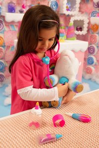 Interactieve knuffel Little Live Pets Rainglow Unicorn Vet Set-Afbeelding 2