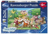 Ravensburger puzzle 2 en 1 Les 7 nains