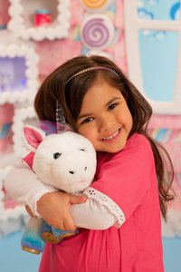 Interactieve knuffel Little Live Pets Rainglow Unicorn Vet Set-Afbeelding 7