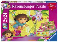 Ravensburger puzzel 2-in-1 Dora in de jungle