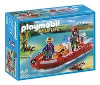 Playmobil Wild Life 5559 Braconniers avec bateau
