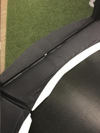 Optimum Skyline trampolineset diameter 4,23 m zwart-Afbeelding 4