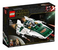 LEGO Star Wars 75248 Resistance A-Wing Starfighter-Linkerzijde