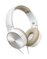 Pioneer casque SE-MJ722T brun/blanc