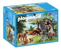Playmobil Wild Life 5561 Explorateur et famille de lynx-Avant