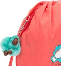 Kipling sac de gymnastique Supertaboo Light Peachy Pink Fun-Détail de l'article
