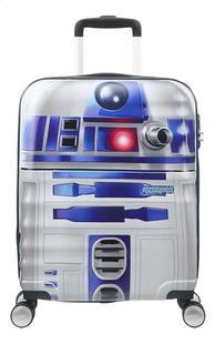 American Tourister harde reistrolley Wavebreaker Disney Star Wars R2-D2 grijs 55 cm-Vooraanzicht