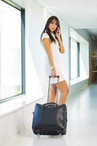 Olivia Lauren businesstrolley Nathan zwart-Afbeelding 1
