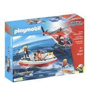Playmobil City Action 5668 Kustwacht-Vooraanzicht