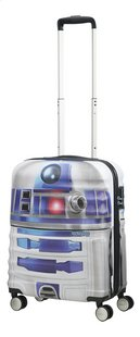 American Tourister harde reistrolley Wavebreaker Disney Star Wars R2-D2 grijs 55 cm-Afbeelding 1